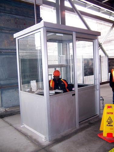 Guard booths shacks parking attendant