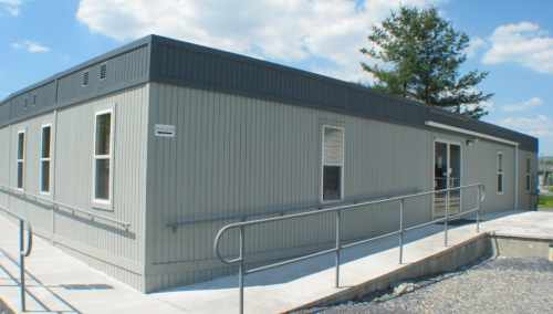 Modular offices portable buildings relocatable offices for Portable shed office