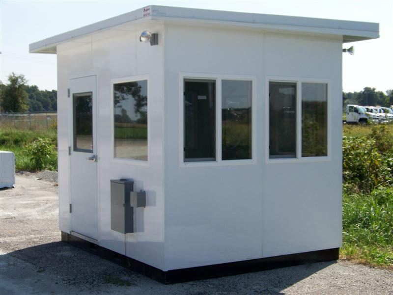 Guard Booths Shacks Parking Attendant Booths