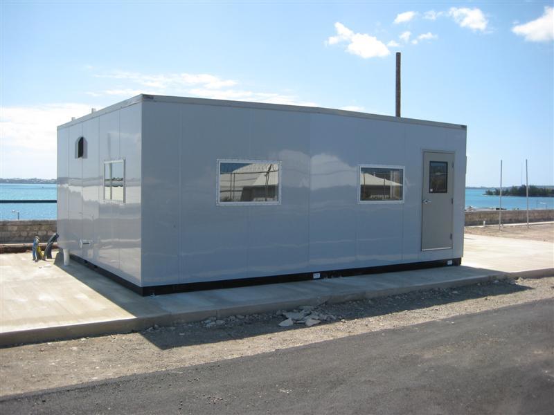 Custom specialty modular buildings for Prefab units