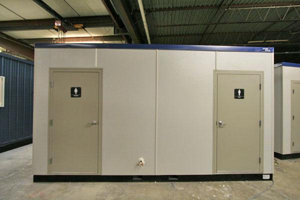 Modular Restrooms Prefabricated Washroom Portable Locker Rooms